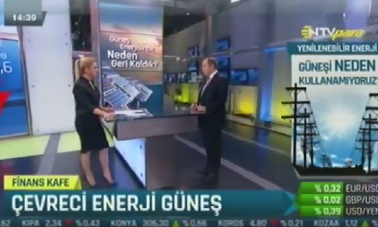 Tuncmatik Yönetim Kurulu Başkanı Sn. Mehmet ÖZER NTV TV Finans Cafe programına konuk oldu.