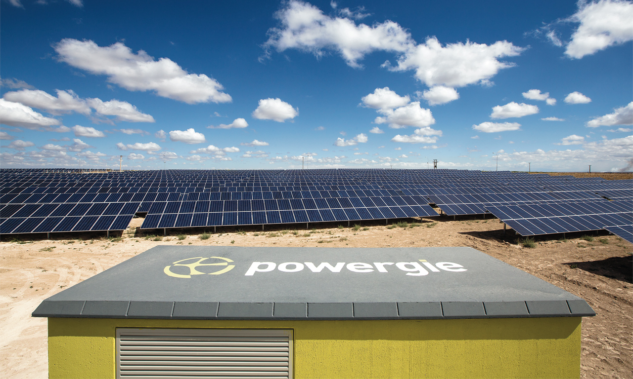 Türkiye'nin En Büyük Güneş Enerjisi Santrali Hizmete Açıldı.